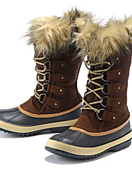 Women's Snow sports Mid-Calf Boots Winter Anti-Slip / Waterproof / Breathable Shoes Coffee / Black