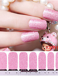 Bling Shimmering Powder Environmental Protection Nail Stickers