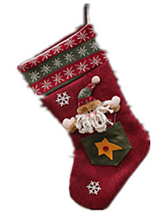 Holiday Props / Holiday Supplies / Holiday Decorations Holiday Supplies Santa Suits Cloth / Plush For Boys / For Girls 5 to 7 Years