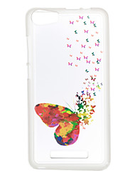 For Wiko Lenny 3 Case Cover Butterfly Pattern Back Cover Soft TPU Lenny 3 Sunset 2