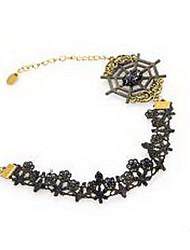 Femme Bracelet de cheville/Bracelet Dentelle Mode Bijoux Pour Soirée Quotidien
