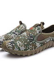 Men's Loafers & Slip-Ons Spring / Summer / Fall Comfort Tulle Outdoor / Athletic / Casual Green Water Shoes / Upstream shoes