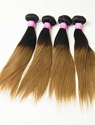 4 Pièces Droit (Straight) Tissages de cheveux humains Cheveux Malaisiens 0.4kg 8-30 inch Extensions de cheveux humains