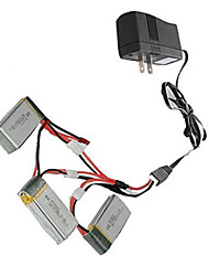 MJX Geral Bateria drones / aviões de RC Prateado Metal 1 Peça