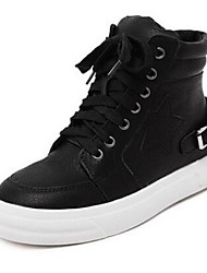 Women's Sneakers Comfort PU Casual Black