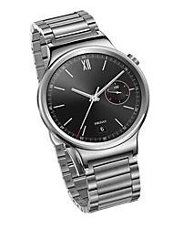 Hommes Smart Watch Numérique Acier Inoxydable Bande Argent Marque