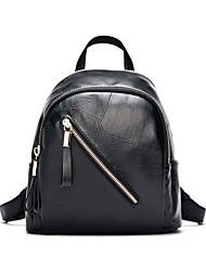 Women PU Sports / Casual Backpack Black