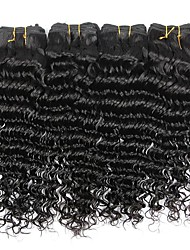 4 bundles Brazilian Virgin Remy Hair Deep Wave Human Hair Weave Extensions 400g