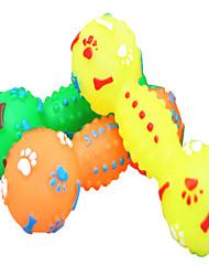 Dog Pet Toys Squeaking Toy Squeak / Squeaking Random Color Rubber
