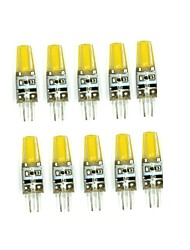 10 Pcs G4 1505 Cob DC 12V  2W   650 lm Double Needle Waterproof Glue Lamp