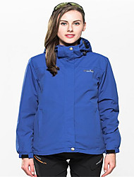 Hiking Softshell Jacket / Windbreakers / Tops Women's Waterproof / Thermal / Warm / Windproof Spring / Fall/Autumn / Winter PolyesterL /
