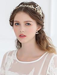 Mujer Diamantes Sintéticos Cristal Aleación Celada-Boda Ocasión especial Tiaras Bandas de cabeza 1 Pieza