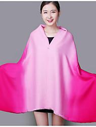Women Cashmere Scarf,Casual RectangleColor Block