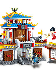 Action Figures & Stuffed Animals / Building Blocks For Gift  Building Blocks Model & Building ToyChinese Architecture / House /