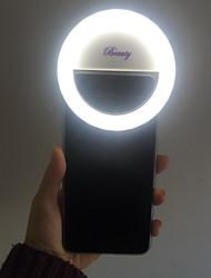 preencher recarregável levou luz para o iPhone e todos os telefones inteligentes (branco)