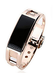 * Smart BraceletWater Resistant/Waterproof / Long Standby / Pedometers / Voice Call / Sports / Camera / Alarm Clock / Distance Tracking /