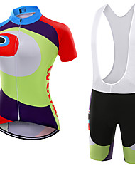 WOLFKEI Summer Cycling Jersey Short Sleeves BIB Shorts Ropa Ciclismo Cycling Clothing Suits #33