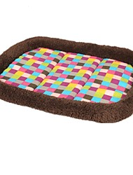 Dog Bed Pet Blankets Multicolor Fabric / Cotton