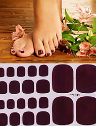 Environmental Protection Nail Toe Stickers