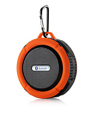 Portable Waterproof Bluetooth 3.0 Speaker  For Outdoor/Shower with Built-in Microphone & Suction Cup