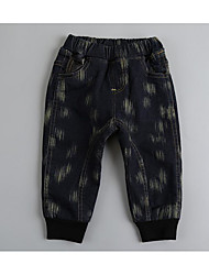 Boy Going out / Casual/Daily Solid Jeans-Spandex Winter / Fall