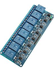 Placa do módulo de relé 5v 8 canais para (para arduino) (funciona com oficial (para Arduino) placas)