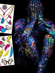 2 Séries animales / Séries de fleur / Séries de totem / Autres / Cartoon Series / Série romantiqueNon Toxic / Motif / Halloween / Tribal