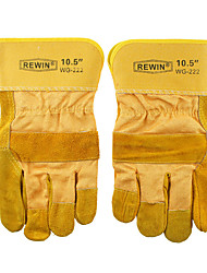 REWIN TOOL Electric Soldering Short Leather Glove