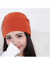 Women Cotton Beanie/Slouchy,Casual Fall / Winter