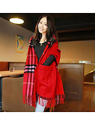 Women's Acrylic Rectangle,Casual Striped Fall Winter