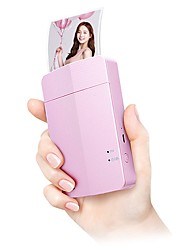 Lg Photo Printer  Pd251P With Pink E For Popo Printing Machine/Mobile Phone Portable Polaroid White