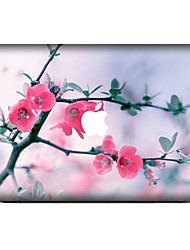 1 pièce Anti-Rayures Fleur En Plastique Transparent Décalcomanie Motif PourMacBook Pro 15'' with Retina MacBook Pro 15 '' MacBook Pro