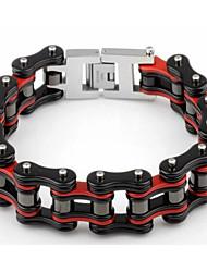 Kalen New Trendy Heavy Bike Chain Bracelets 316 Stainless Steel Bicycle Chain Men's Bracelets Jewelry Accessories Gifts