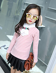 Girl Casual/Daily Striped Blouse,Cotton Winter / Fall Long Sleeve