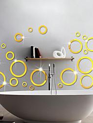 Mode / Forme / 3D Stickers muraux Stickers muraux 3D / Miroirs Muraux Autocollants Stickers muraux décoratifs,Vinyle Matériel Amovible