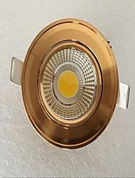 LED даунлайт Тёплый белый / Естественный белый Светодиодная лампа 1 шт.