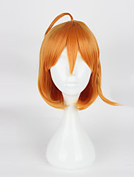 Cosplay Wigs Cosplay Cosplay Yellow Short Anime Cosplay Wigs 35cm CM Heat Resistant Fiber Female