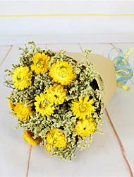 Fleurs de mariage Rond Lis Bouquets Mariage Fleur séchée 50cm