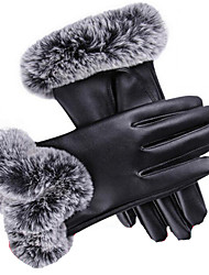 Touchscreen Ladies' Gloves (Black)
