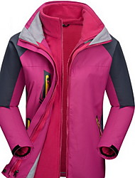 Hiking Tops Women's / Men's Thermal / Warm / Windproof / Insulated / Comfortable / Thick Fall/Autumn / Winter VelvetYellow / Green / Red