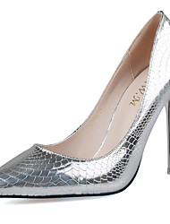 Women's Shoes Slip-on Snake Pattern Heels/Pumps Pointed Toe Stiletto Heels Party/Dress Shoes