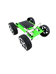Solar Powered Gadgets Model & Building Toy Car Plastic Green Boys