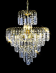 Chandelier Electroplated Feature for Candle Style 6 Bulbs
