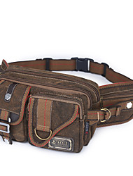 10 L Belt Pouch/Belt Bag Wearable / Breathable Coffee