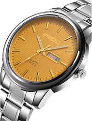 Watch Men Stainless Steel Watches Clock Display Waterproof Watch Relogio Masculino Quartz Wristwatch Mens Montre Homme