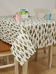 Square Patterned / Floral Table Cloth  Linen Material Hotel Dining Table / Table Decoration / Home Decoration