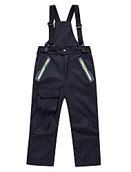 Sports Ski Wear Pants/Trousers/Overtrousers Kid's Winter Wear Cotton Winter Clothing Waterproof / Thermal / Warm / Windproof / Static-free