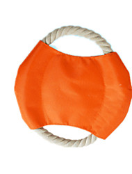 Dog Pet Toys Interactive Rope / Track Orange Textile