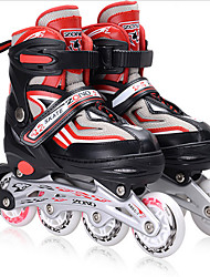 Inline Skates Unisex Wearproof Breathable Comfortable Indoor Outdoor Practise PU Breathable Mesh Ice Skating Skate