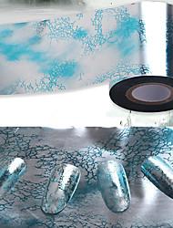 1pcs Nail Sticker Art Diecut Manucure Pochoir Maquillage cosmétique Nail Art Design